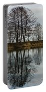 Of Mirrors And Trees Portable Battery Charger