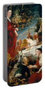 Offering To Ceres Goddess Of Harvest Portable Battery Charger