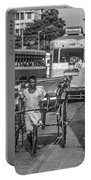 Oh Calcutta Monochrome Portable Battery Charger