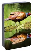 Oh My What A Handsome Pheasant Portable Battery Charger