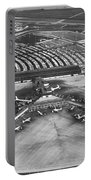 O'hare International Airport Portable Battery Charger by Underwood Archives