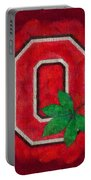 Ohio State Buckeyes On Canvas Portable Battery Charger