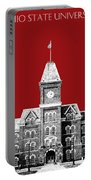 Ohio State University - Dark Red Portable Battery Charger