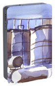 Oil Depot In April Portable Battery Charger