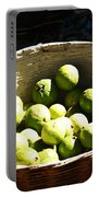 Oil Painting - Based Full Of Guavas Portable Battery Charger