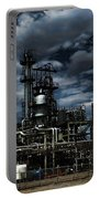 Oil Refinery Sinclair Wyoming Portable Battery Charger
