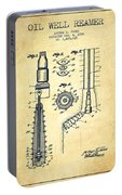 Oil Well Reamer Patent From 1924 - Vintage Portable Battery Charger