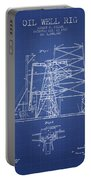 Oil Well Rig Patent From 1917 - Blueprint Portable Battery Charger