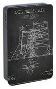 Oil Well Rig Patent From 1917- Dark Portable Battery Charger