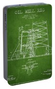 Oil Well Rig Patent From 1917- Green Portable Battery Charger