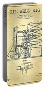 Oil Well Rig Patent From 1917- Vintage Portable Battery Charger