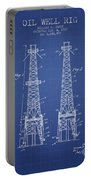 Oil Well Rig Patent From 1927 - Blueprint Portable Battery Charger