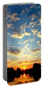 Okavango Delta Sunset Portable Battery Charger