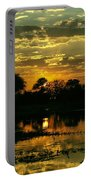 Okavango Sunset Portable Battery Charger