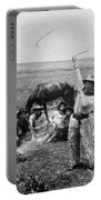 Oklahoma Cowboys, C1905 Portable Battery Charger