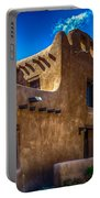 Old Adobe Building Santa Fe New Mexico Portable Battery Charger