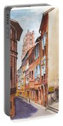 Old Albi The Pink City Of South West France Portable Battery Charger