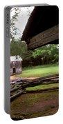 Old Appalachian Barn Yard Portable Battery Charger