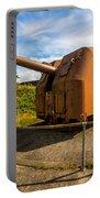 Old Artillery Gun - Ft. Stevens - Oregon Portable Battery Charger