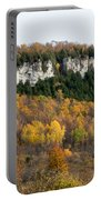 Old Baldy In Fall Portable Battery Charger