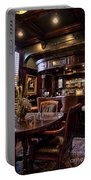Old Bar In Charleston Sc Portable Battery Charger by David Smith