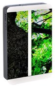 Old Barks Diptych - Deciduous Trees Portable Battery Charger