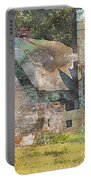 Old Barn And Silos Digital Paint Portable Battery Charger
