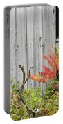 Old Barn In Fall Portable Battery Charger by Keith Webber Jr