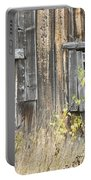 Old Barn In Fall Maine Portable Battery Charger by Keith Webber Jr