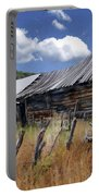 Old Barn Las Trampas New Mexico Portable Battery Charger