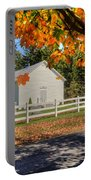 Old Bethel Church 1842 Portable Battery Charger by Dan Friend