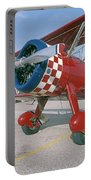 Old Biplane V Portable Battery Charger