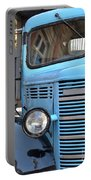 Old Blue Jalopy Truck Portable Battery Charger