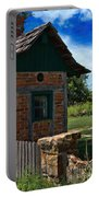 Old Brick Shed Portable Battery Charger