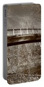 Old Bridge In Autumn Portable Battery Charger