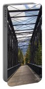 Old Canmore Railroad Bridge Portable Battery Charger