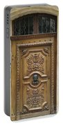 Old Carved Door Portable Battery Charger