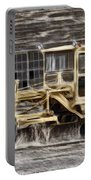 Old Cat Grader Portable Battery Charger