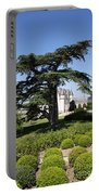 Old Cedar At Chateau Amboise Portable Battery Charger