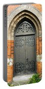 Old Church Door Portable Battery Charger