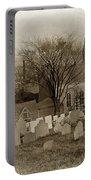 Old Church's Cemetery Graveyard Boston Massachusetts Circa 1900 Portable Battery Charger