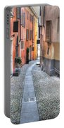 Old Colorful Stone Alley Portable Battery Charger