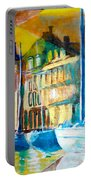 Old Copenhagen Thru Stained Glass Portable Battery Charger