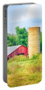 Old Country Farm And Barn Portable Battery Charger