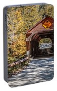 Old Covered Bridge Vermont Portable Battery Charger