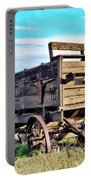 Old Covered Wagon Portable Battery Charger