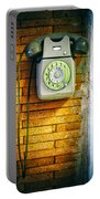 Old Dial Phone Portable Battery Charger