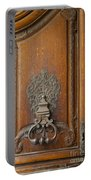Old Door Knocker Portable Battery Charger