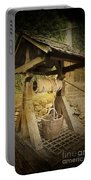 Old Draw Well Portable Battery Charger by Heiko Koehrer-Wagner