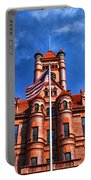 Old Dupage County Courthouse Flag Portable Battery Charger